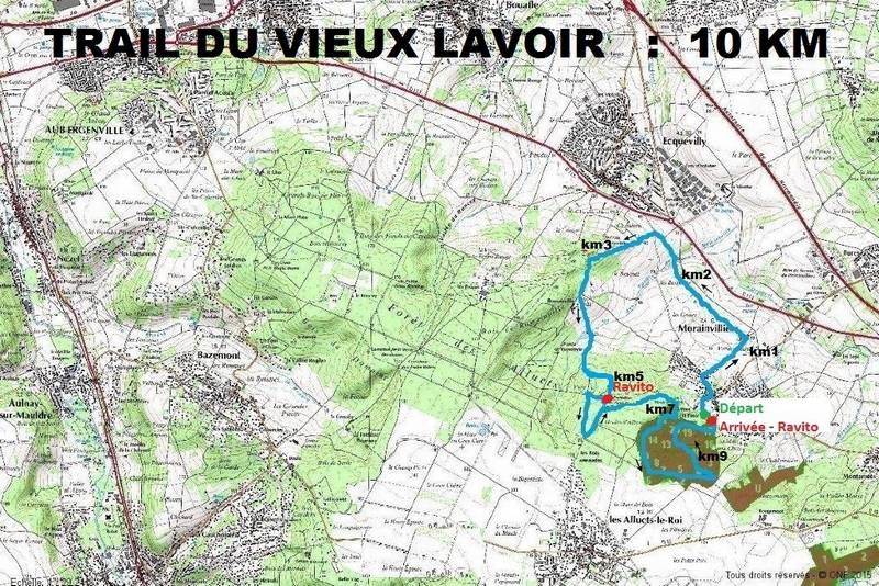 Trail du Vieux Lavoir - Parcours de 10 km